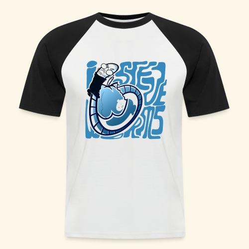 i STEVE WORMS - Men's Baseball T-Shirt