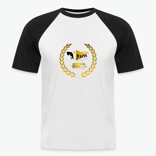Followme Paris lauréat Festival MMI Béziers - T-shirt baseball manches courtes Homme
