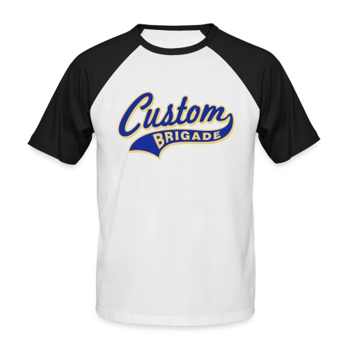 college3 - T-shirt baseball manches courtes Homme