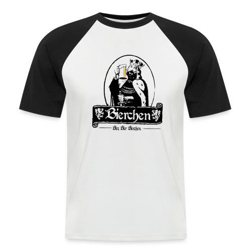 Bierchen - Männer Baseball-T-Shirt