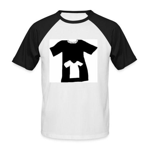 teeshirt 3 - T-shirt baseball manches courtes Homme