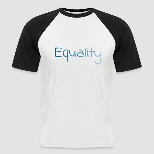 equality - Kortärmad basebolltröja herr