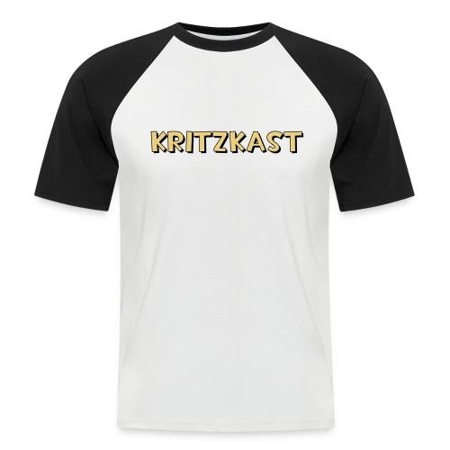 kk text 2 flex 50cmx10cm - Men's Baseball T-Shirt