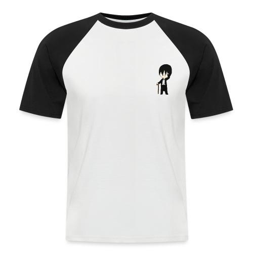 rico the penguin - Kortærmet herre-baseballshirt