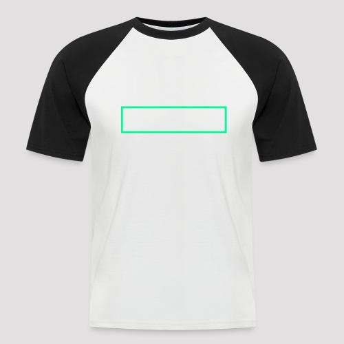 Herbivore Logo White - Maglia da baseball a manica corta da uomo