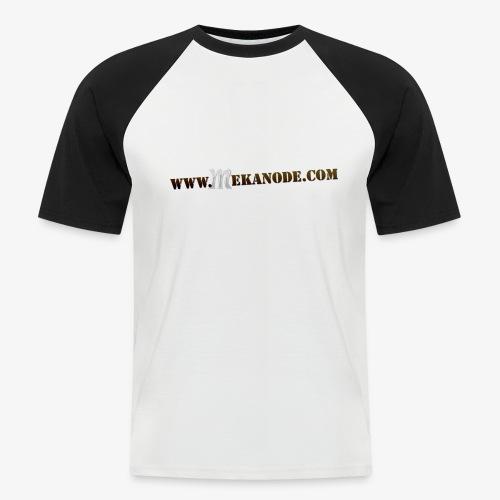 wwwMEKANODEcom - T-shirt baseball manches courtes Homme