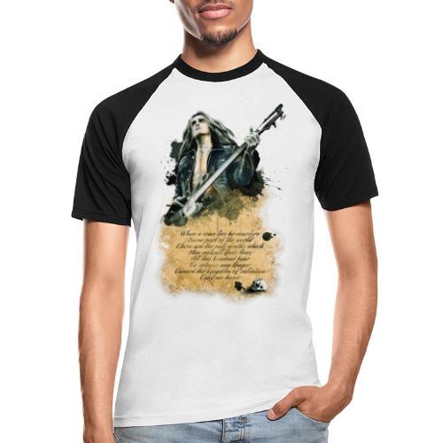 bass - Camiseta béisbol manga corta hombre