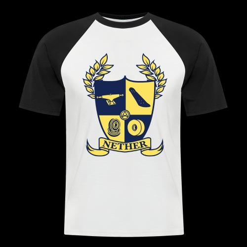 Nether College T-Shirt - Maglia da baseball a manica corta da uomo