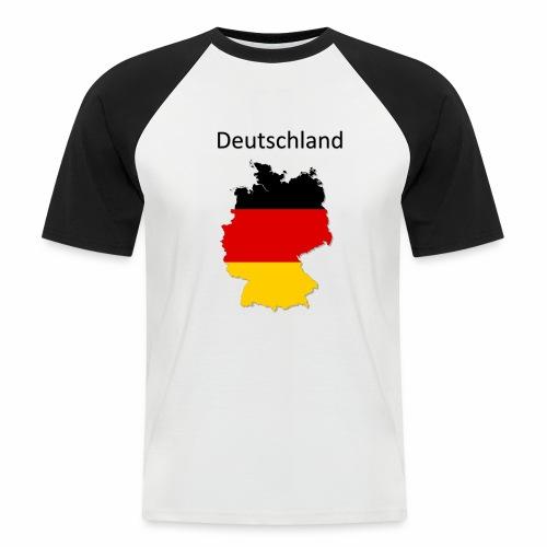 Deutschland Karte - Männer Baseball-T-Shirt