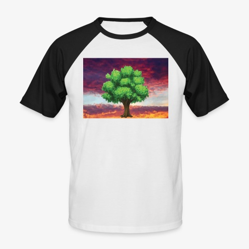 Tree in the Wasteland - Men's Baseball T-Shirt