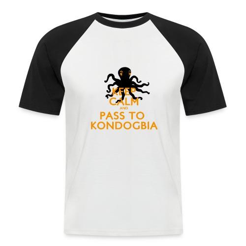 Keep Calm Kondogbia - T-shirt baseball manches courtes Homme