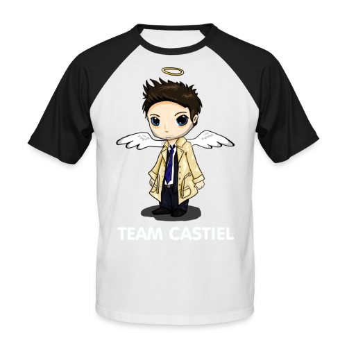 Team Castiel (dark) - Men's Baseball T-Shirt