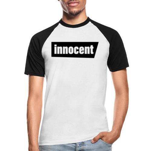 Innocent Black-Edition - Männer Baseball-T-Shirt