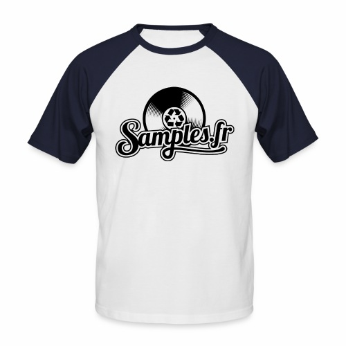 Gris / Noir (H / F) - T-shirt baseball manches courtes Homme