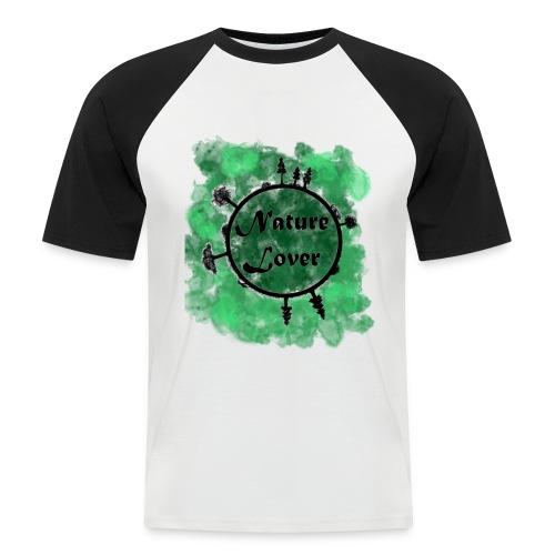 Naturliebhaber - Männer Baseball-T-Shirt