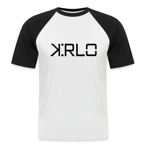Kirlo Logotipo Negro - Camiseta béisbol manga corta hombre