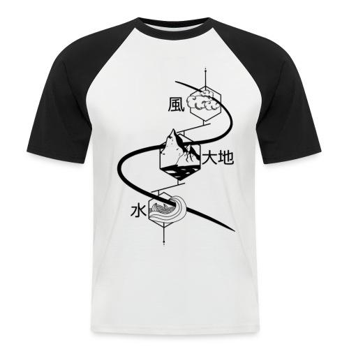 Les 3 éléments - T-shirt baseball manches courtes Homme