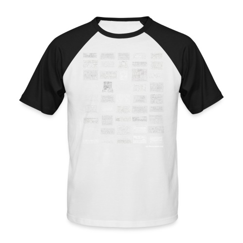 Synth Evolution T-shirt - Black - Men's Baseball T-Shirt