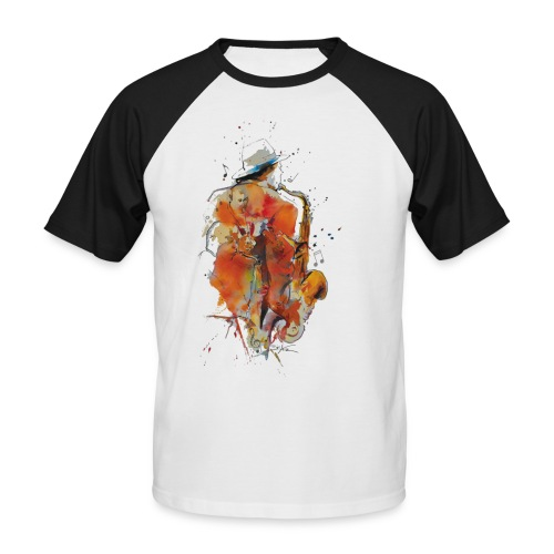 Jazz men - T-shirt baseball manches courtes Homme