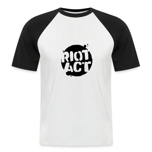 Black (large) - Men's Baseball T-Shirt