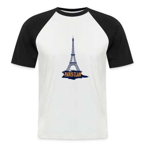 Paris Eiffel - Men's Baseball T-Shirt