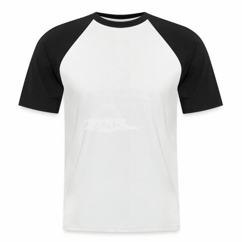 Paris dream work - T-shirt baseball manches courtes Homme