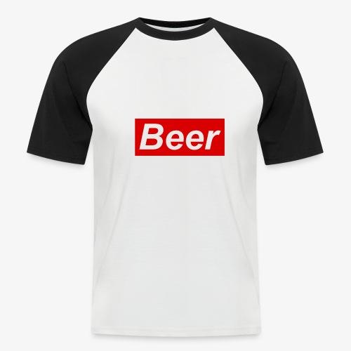 Beer. Red limited edition - Mannen baseballshirt korte mouw