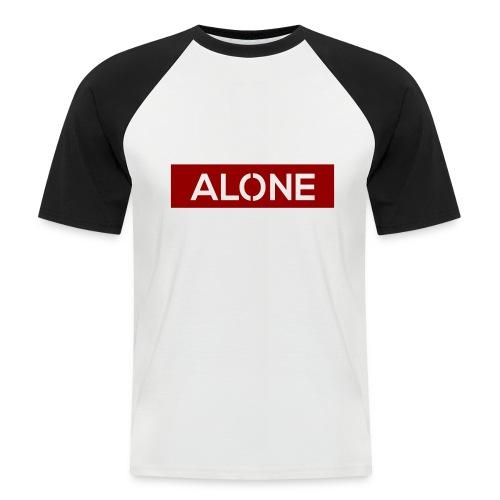 Alone RED Edition - Maglia da baseball a manica corta da uomo