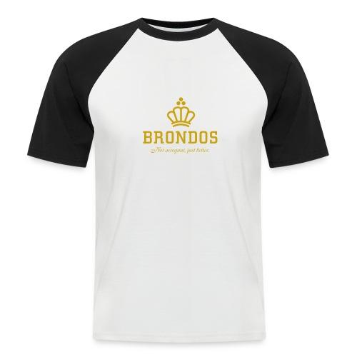 Brondos - Miesten lyhythihainen baseballpaita