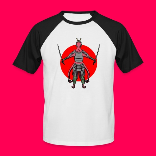 Octopus Samurai - Camiseta béisbol manga corta hombre