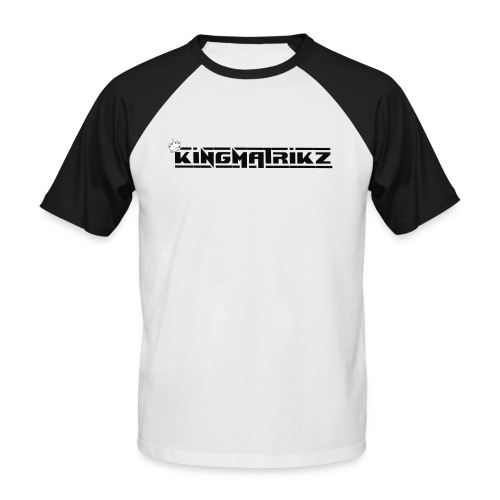 kingmatrikz mk2 - Kortærmet herre-baseballshirt