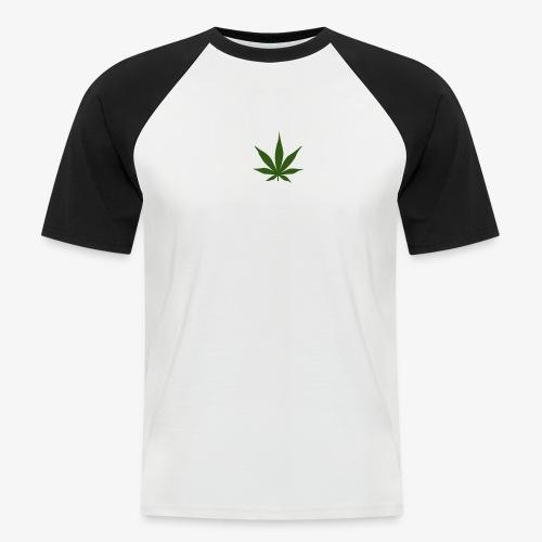 too high design - Mannen baseballshirt korte mouw