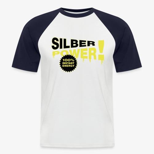 SilberPower! - Kortærmet herre-baseballshirt