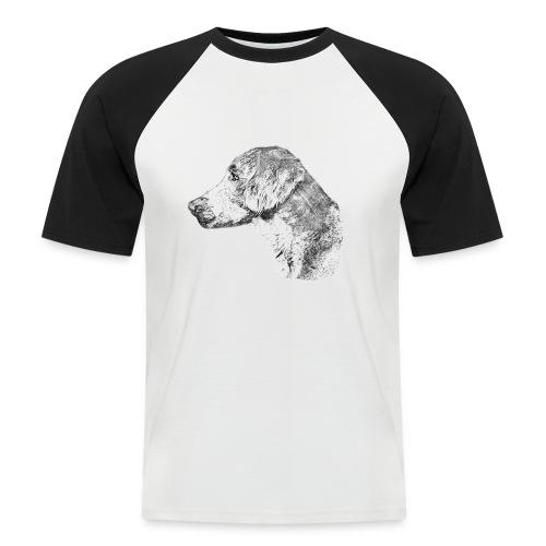Langhaar Weimaraner - Männer Baseball-T-Shirt