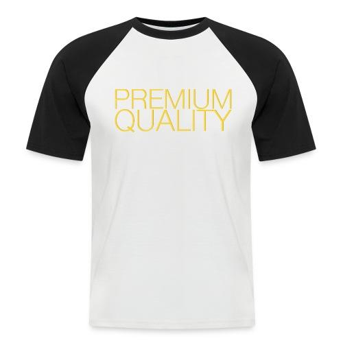 Premium quality - T-shirt baseball manches courtes Homme