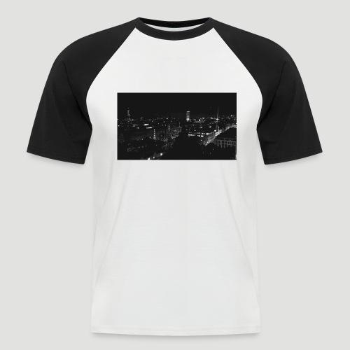 Londres night city - Camiseta béisbol manga corta hombre