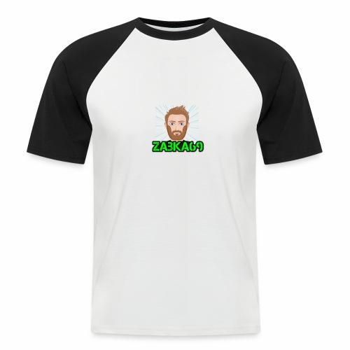 Tee Shirt Homme Zabka69 - T-shirt baseball manches courtes Homme
