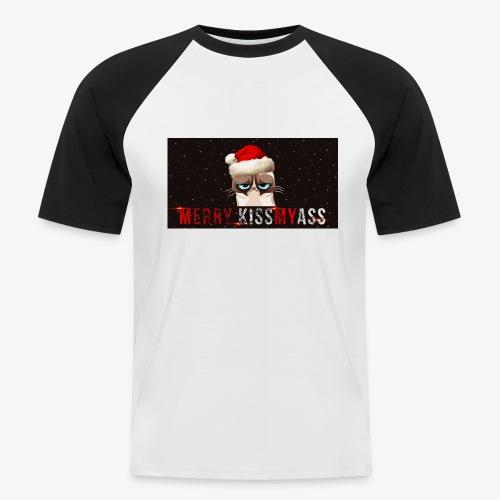 kiss - Koszulka bejsbolowa męska