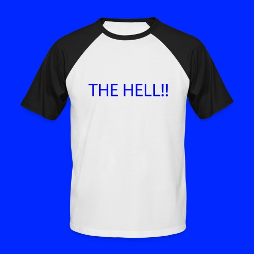 THE HELL!! - Kortärmad basebolltröja herr