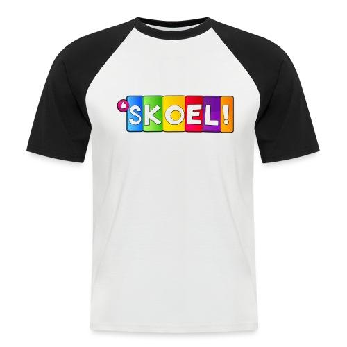 SKOEL merchandise - Mannen baseballshirt korte mouw