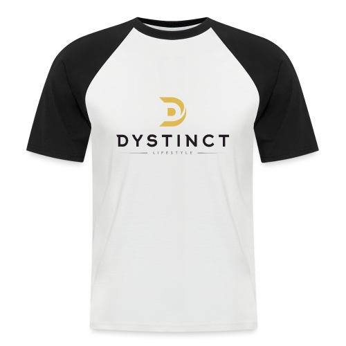 Dystinct Large Logo - Men's Baseball T-Shirt