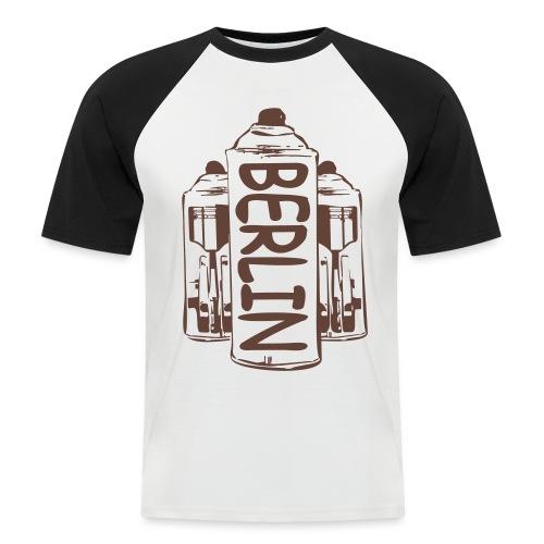 Berlin Power - Männer Baseball-T-Shirt