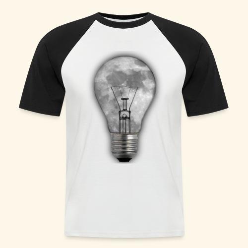 moon bulb - Camiseta béisbol manga corta hombre