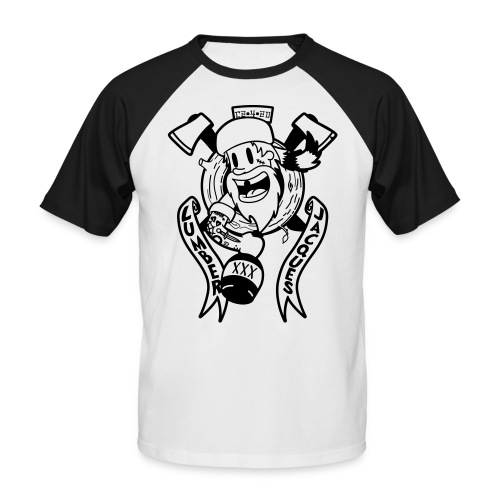 Lumber Jacques - T-shirt baseball manches courtes Homme