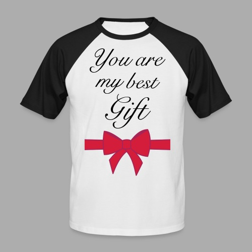 you are my best gift - Men's Baseball T-Shirt