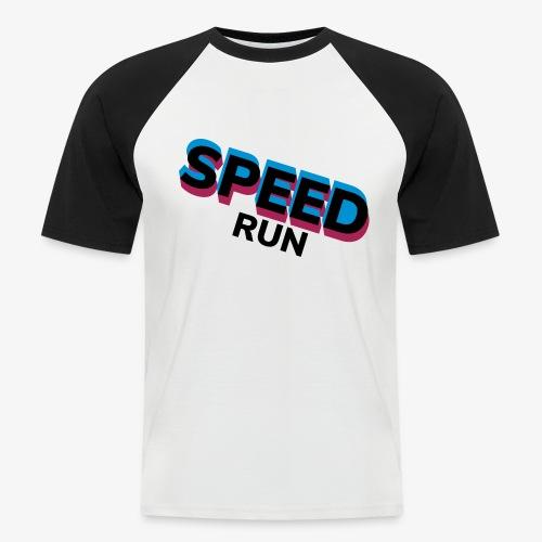 Speedrun - Mannen baseballshirt korte mouw