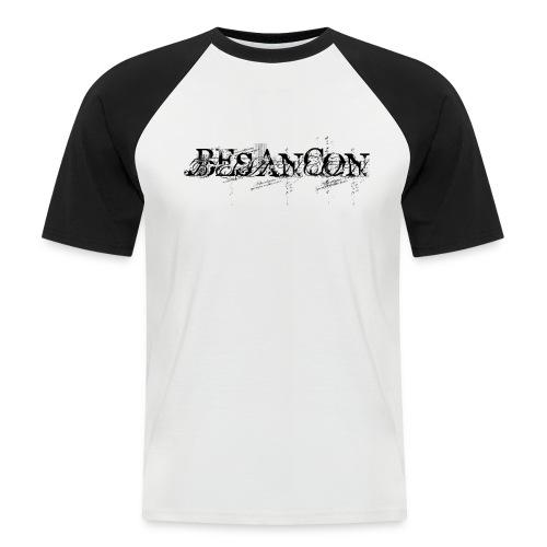 Besançon Turbo noir - T-shirt baseball manches courtes Homme