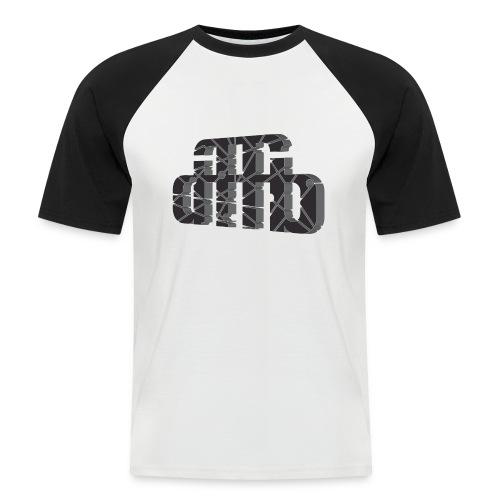 crashed4 - Männer Baseball-T-Shirt