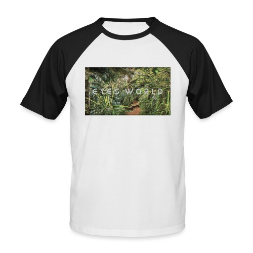 jungle - T-shirt baseball manches courtes Homme
