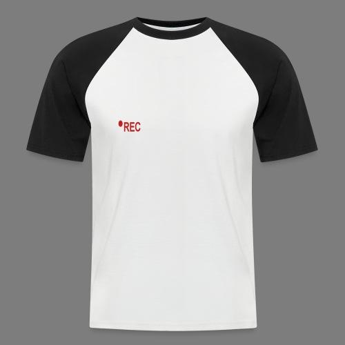 ERFINAL - Mannen baseballshirt korte mouw
